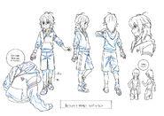 Beyblade Burst Chouzetsu Shu Kurenai Concept Art 5