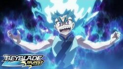 BEYBLADE BURST TURBO Episode 14 - Raging Dragon! Brutal Lúinor!