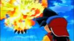 Ozuma Uses Cross Fire