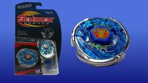 Beyblade Legends BB-28 Storm Pegasis 105RF Unboxing Giveaway Exp Jul 20