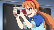 Raika taking pictures