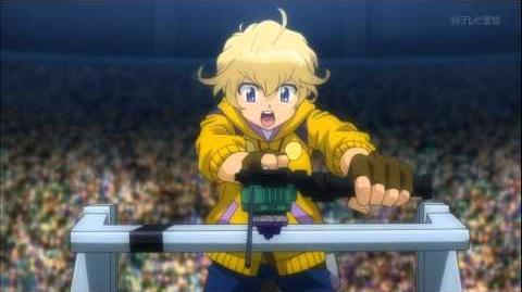 Metal Fight Beyblade Zero-G Episode 32 - Hot-Blooded! Zero VS Takanosuke