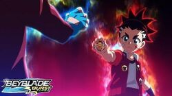 BEYBLADE BURST TURBO Episode 40 - Master of the Wind! Air Knight!