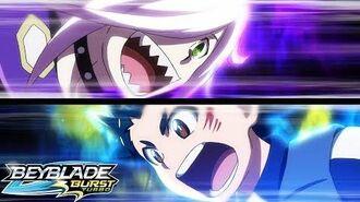 BEYBLADE BURST TURBO Episode 37 - Turbo Clash! Showdown at the Dark Citadel!