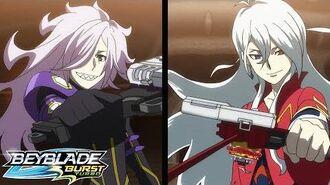 BEYBLADE BURST TURBO Episode 41 Hyde vs Phi!