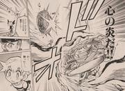 Sagittario Flame Claw Manga