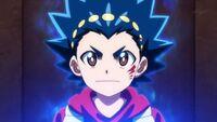 Valt's blue aura