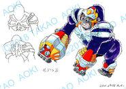 Bey Manga, Vortex Ape settei