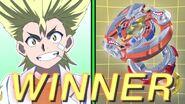 Ranjiro's victory