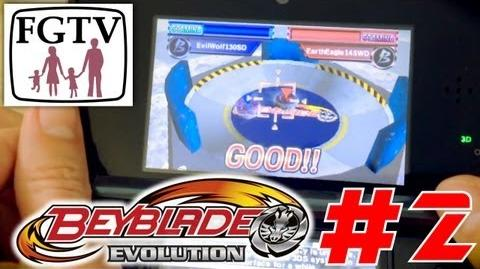 Let's Play Beyblade Evolution 3DS with the family Day 2 (Turn 5)