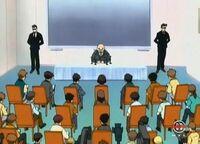 Mr. Dickenson Pressekonferenz