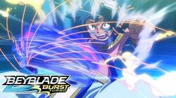 BEYBLADE BURST TURBO Episode 24 - Achilles vs Xcalius!