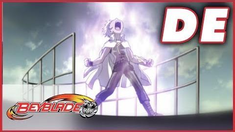 Beyblade Metal Fusion Dark Gashers große krabbelige Operation - Ep