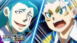 BEYBLADE BURST RISE Episode 5 Part 2 Rising Battles! Semifinals!
