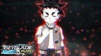 BEYBLADE BURST TURBO Episode 15 - Trial by Fire! Defeat Lui!