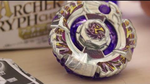 ARCHER GRYPH C145S BBG-12 Beyblade Zero-G UNBOXING & REVIEW - GRYFFINDOR?!