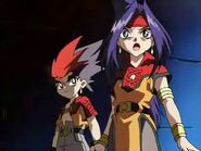 Beyblade V-Force Team Psykick Movie Arc - Kai vs Goki 180633