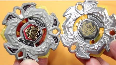 BATTLE Vari Ares D D (Delta Drive) VS Vari Ares 145WB - Beyblade 4D Takara Tomy VS Hasbro