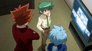 Kenta, Ryo and Hikaru inZero-G