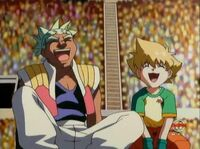 Rick und Max lachen