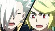 Suoh and Fubuki awe-struck
