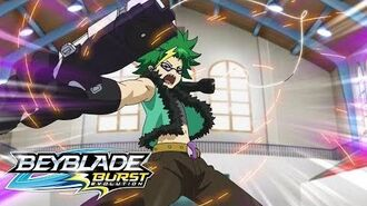 BEYBLADE BURST EVOLUTION Meet the Bladers Silas