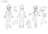 Beyblade Burst Shu Kurenai Concept Art
