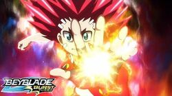 BEYBLADE BURST TURBO Episode 49 Aiger vs Phi!