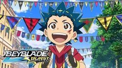 BEYBLADE BURST EVOLUTION Episode 1 Fresh Start! Valtryek's Evolution!