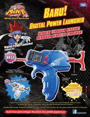 Digital power launcher commercial