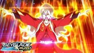 BEYBLADE BURST TURBO Episode 16 Epic Voyage! Battleship Cruise!