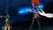 Gingka y Kyoya se enfrentan por segunda vez