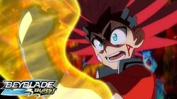 BEYBLADE BURST TURBO Episode 33 - Trapped in the Dread Tower!