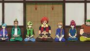 SB Rios meditating