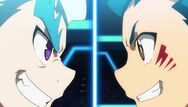 Valt and Lui clash on