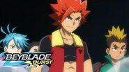 BEYBLADE BURST Meet the Bladers Swordflames Team