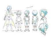 Beyblade Burst Chouzetsu Young Suoh Goshuin Concept Art