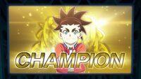 Aiga the champion