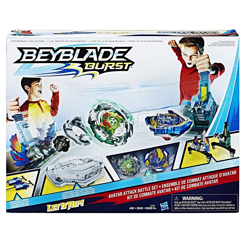 Beyblade Burst Rise Arene Hypersphere Set de Combat Attaque Verticale