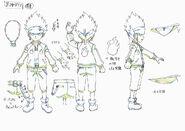 Beyblade Burst Daina Kurogami Concept Art