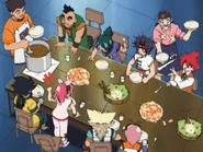 Training camp dining room Beyblade