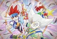 Bey, Pegasus Theme Bladers