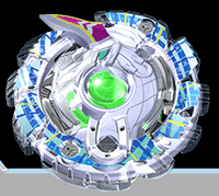 BB Unlock Unicorn Down Needle Beyblade