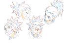 Beyblade Burst Chouzetsu Aiga Akaba Concept Art 5