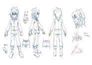 Beyblade Burst Chouzetsu Shu Kurenai Concept Art 3