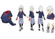 Beyblade Burst Chouzetsu Shu Kurenai Concept Art 6