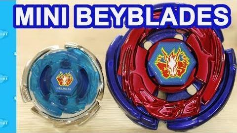 Video Mini Micro Beyblades Lightning L Drago And Storm