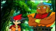 Beyblade V-Force - Max & Ray vs Mariam & Joseph 380046