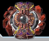 BB Gigant Gaia Quarter Fusion Beyblade