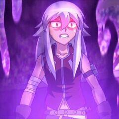 Tsubasa unter dem Einfluss der dunklen Macht